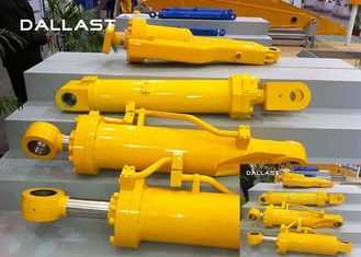 2 Acting Flange Hydraulic Cylinder Shaft Hydraulic Pressure with Piston