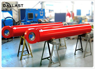 8 Inch Flange Hydraulic Cylinder for Industry Machinery , Double Acting Hydraulic Cylinder