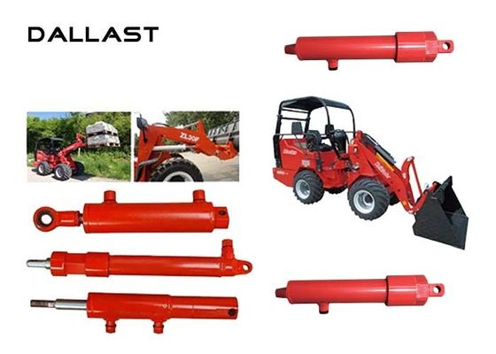 Farm Agricultural Hydraulic Cylinders Double Acting Tractor Bucket 2 Inch Bore
