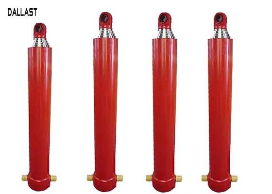 Telescoping Hydraulic Ram Single Acting 3 / 4 / 5 Stages for Dump Truck