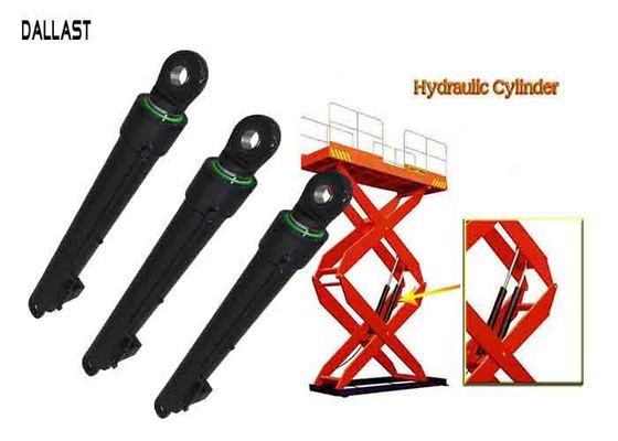 Hydraulic Lift Ram Piston Double Acting Double Earring for Scissor Lift Platform