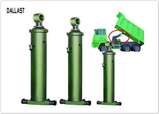 Double Acting Dump Trailer Hydraulic Cylinder Telescoping One Stage Sleeve for Dump Trailer