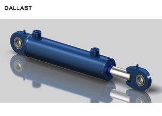 10 Inch Industrial Double Acting Hydraulic Ram Piston Cylinder For Engineering