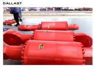 Heavy Duty Flange Hydraulic Cylinder Double Acting Industrial Piston