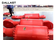Double Acting OEM 100 Ton Heavy Duty High Pressure Hydraulic Rams Cylinders