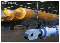 Piston Type Flange Hydraulic Cylinder Double Acting for Industry Machinery
