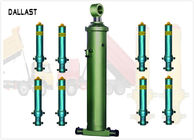 Agricultural Farm Hydraulic Lift Cylinder Single Acting Long Stroke Chrome