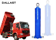 China Double Acting  Dump Trailer Hydraulic Cylinder Telescopic Lifting Tipper factory