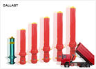 China Long Stroke Single Acting Hydraulic Cylinder for Dump Truck , Hydraulic Oil Cylinder factory