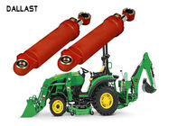 Double Acting Twin Farm Hydraulic Cylinders ISO 9001 Agricultural Trucks