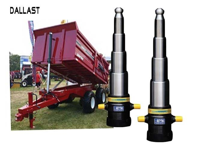 5 Stage Telescopic Hydraulic Cylinder for Dump Trailer