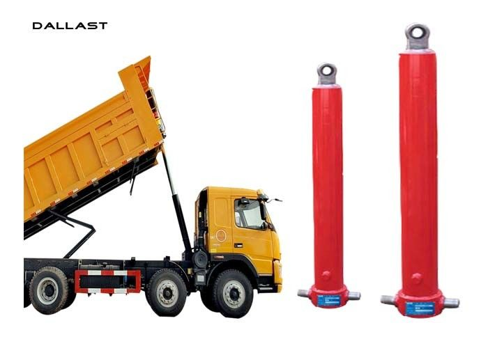 Hydraulic Lift Ram Standard Single Acting Long Stroke Dumper Tipper Trailer