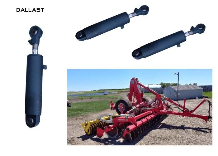 Vehicle Agricultural Hydraulic Cylinder With Chrome Treatment Piston Rod