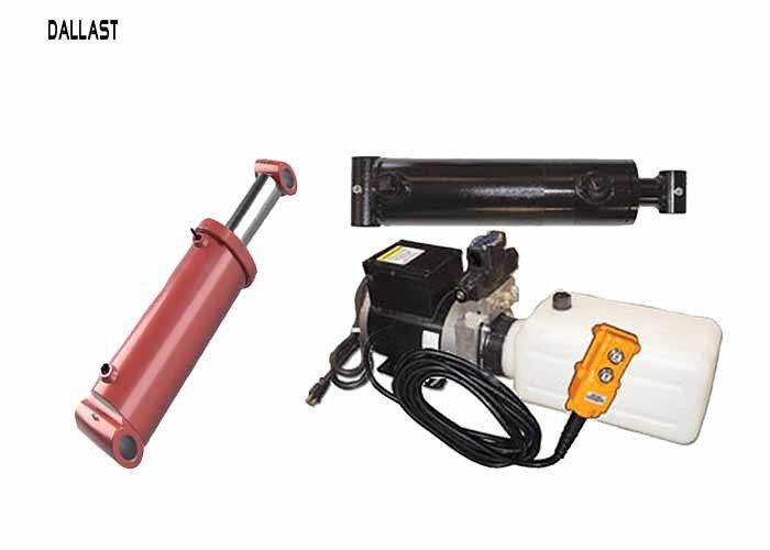 12 Volt Hydraulic Pack With 2 Rams Hoses And Ing Kit Pendant