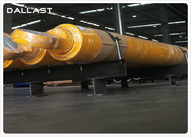 Stainless Steel Flange Hydraulic Cylinder , Hydraulic Oil Cylinders 8412210000 HS Code