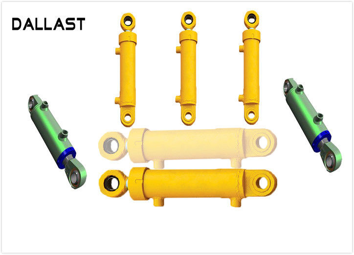 Mid Pressure Loader Farm Hydraulic Cylinders Double Acting Welded Agricultural Trucks