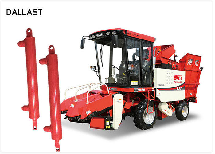 Seal Double Acting Welded Hydraulic Cylinders Dimensions Agricultural Equipment Applied