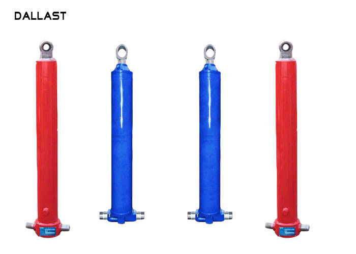 Multistage Telescopic Single Acting Hydraulic Ram Stainless Steel Body Material