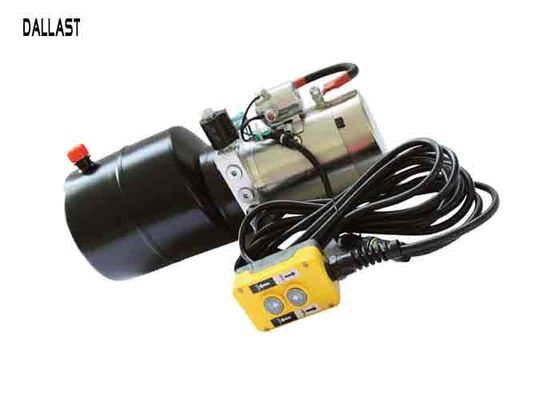 China 12 Volt Hydraulic Power Unit  3000 PSI Work with Single Acting Cylinder factory
