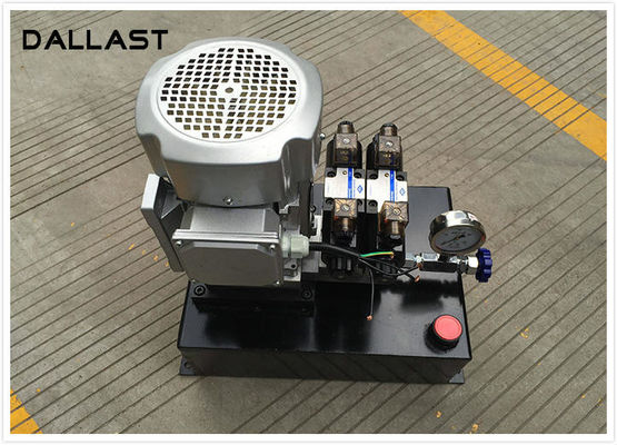 China Electric Vertical Mount Hydraulic Power Unit 220v AC 2.2kw Remote Control Hydraulic factory