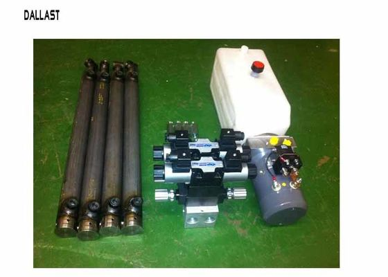 China Hydraulic Power Pack Work with Double Acting Cylinder Remote Control 220 Voltage factory