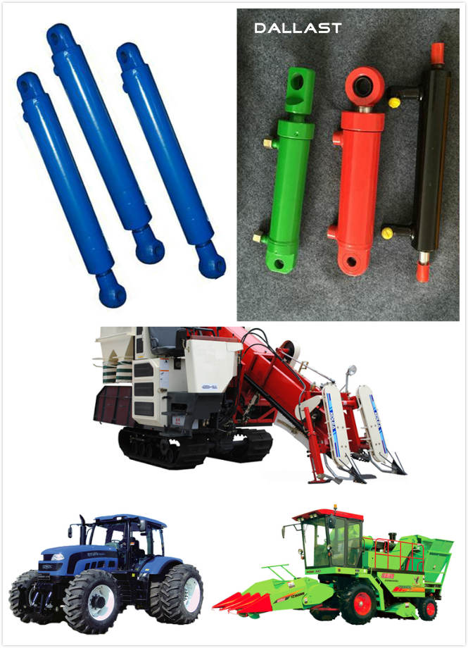 Double Acting Chrome Hydraulic Oil Ram for Agricultural Dump Truck