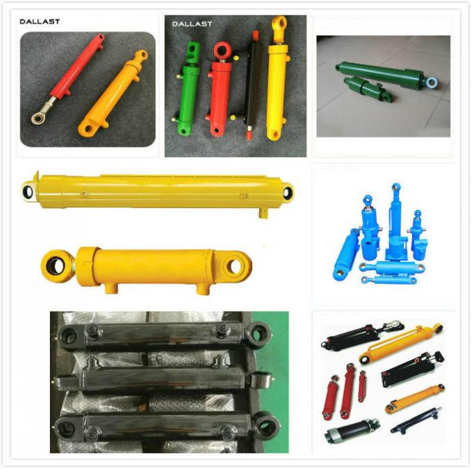 Double Acting Hydraulic Cylinders Piston Type for Agricultural Dump Truck