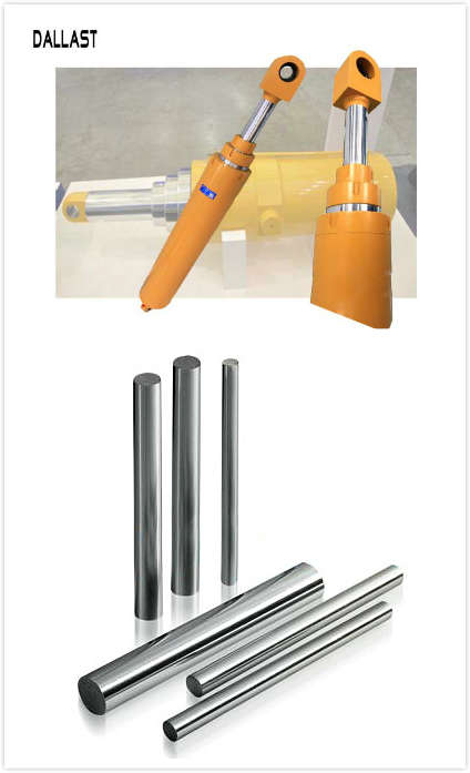 Piston Type Multi stage Telescopic Hydraulic Cylinder with Chrome Steel Rod