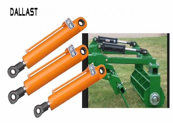 Standard Piston Type Hydraulic Cylinder Dual Action Stroke 800mm for Tractor