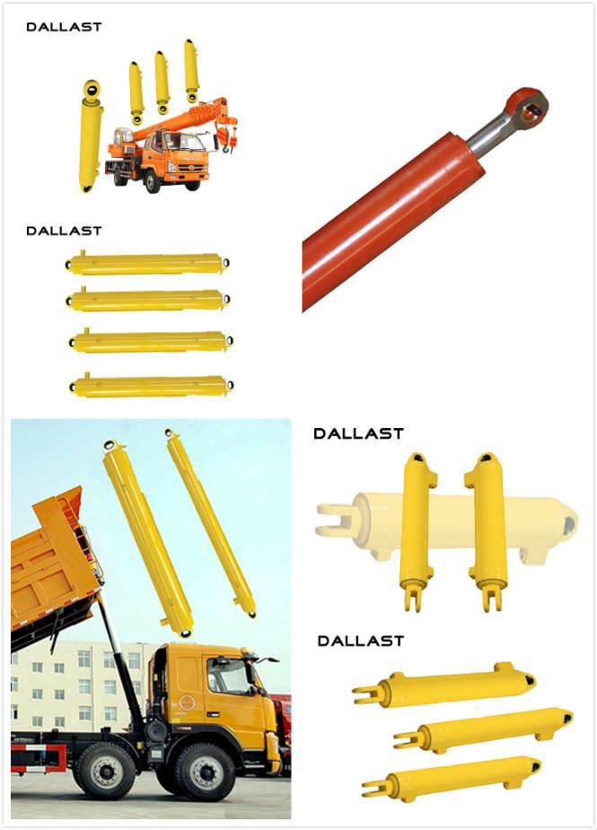 High Pressure Multi Stage Hydraulic Cylinder Single Acting Long Stroke