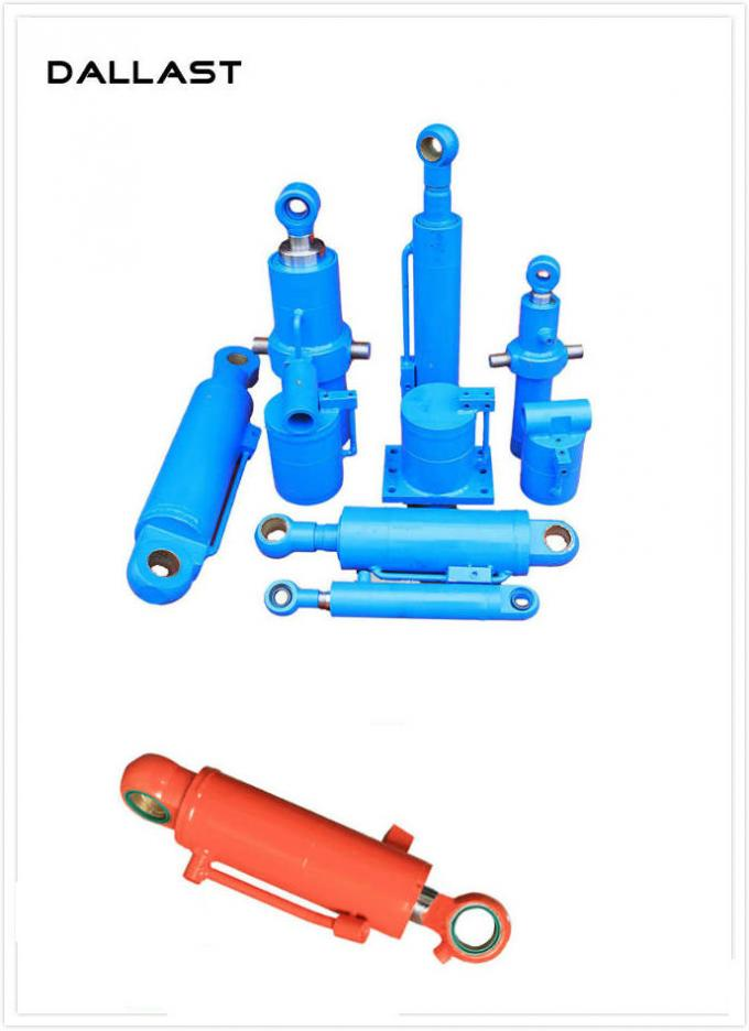 Chief Hydraulic Chrome  Double Acting Hydraulic Ram with Piston Type Welded Farm Truck