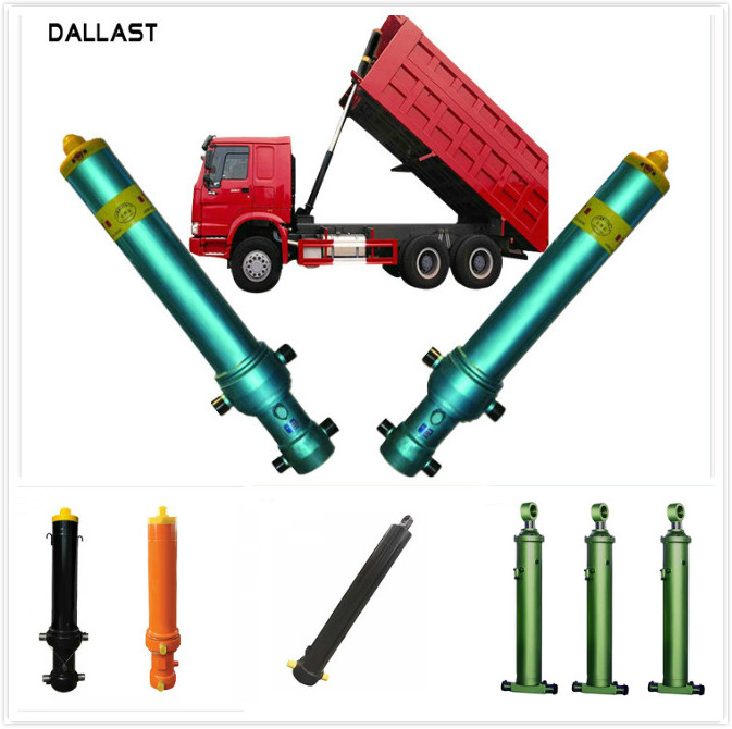 Single Acting Long Stroke Hydraulic Cylinder for Agricultural Truck