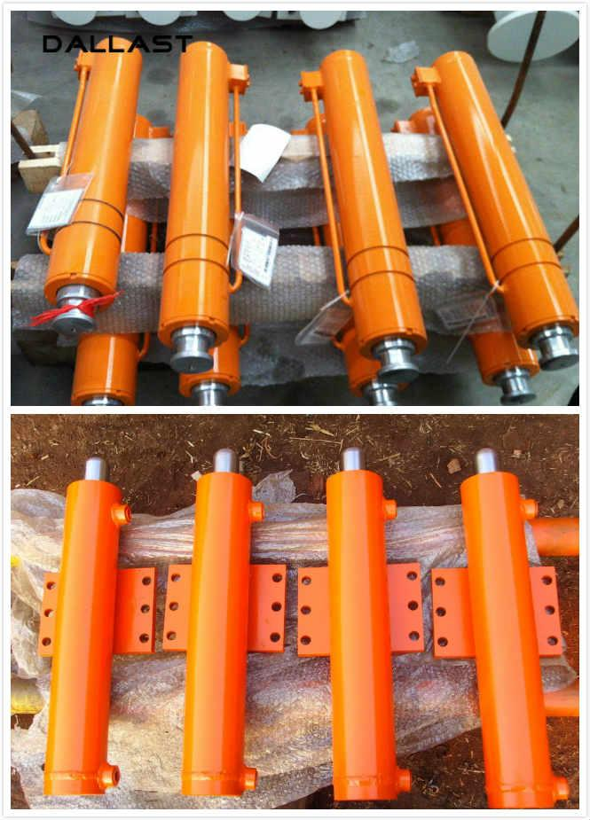 Double Acting Multi Stage Unloading Platform Hydraulic Lift Cylinder