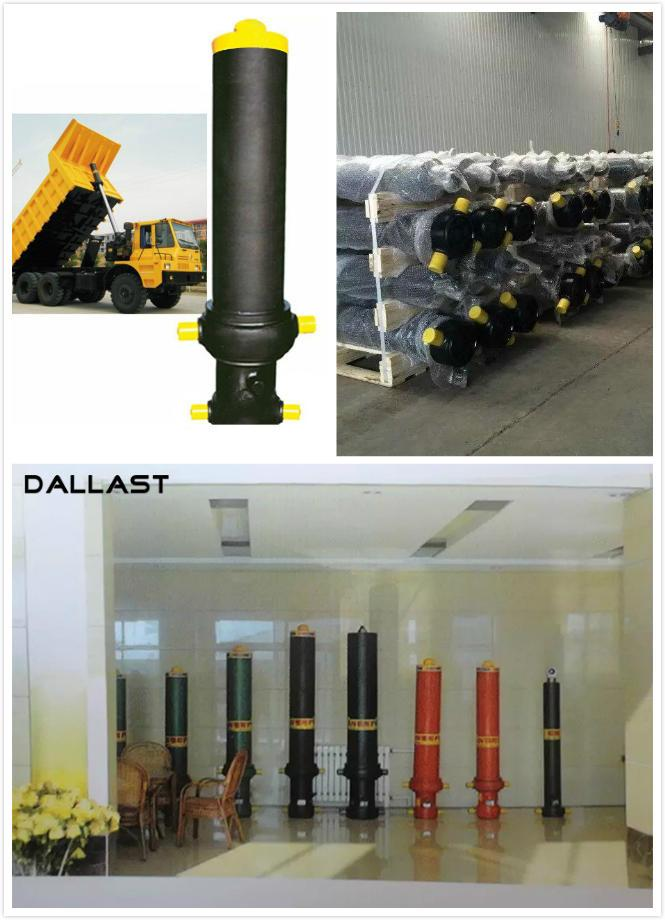 Multi Stage Single Acting Hydraulic Cylinder Lifting Long Stroke for Dump Trailer