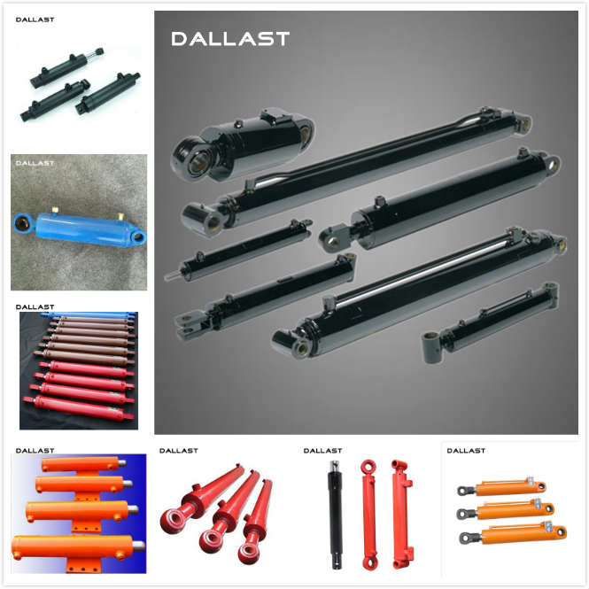 Piston Type Marine Hydraulic Cylinders Dual Action Heavy Duty High Pressure