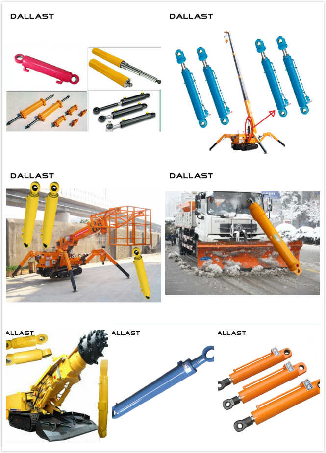 Welded Large Bore Industrial Heavy Duty Hydraulic Cylinder for Crane