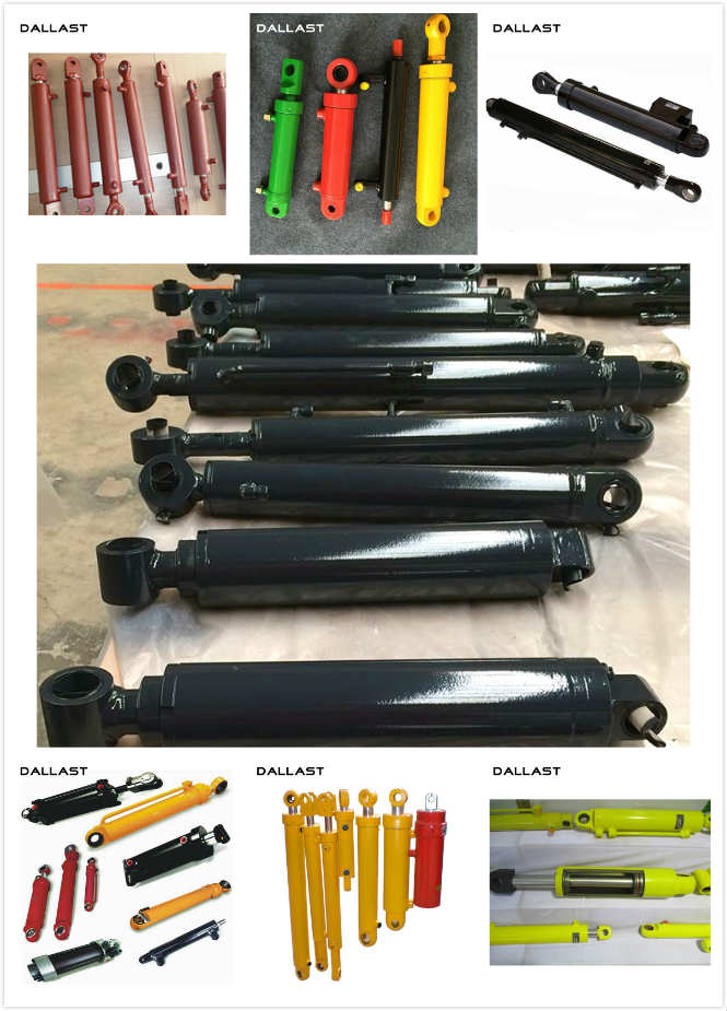 Long Stroke Hydraulic Cylinder Piston Type Horizontal Drilling Rigs