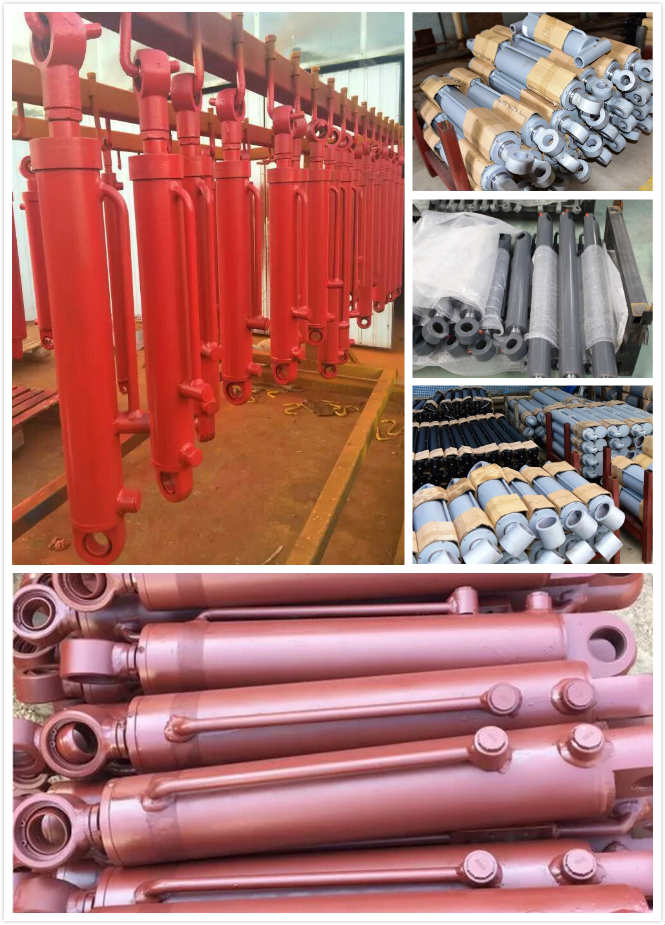 2 Way Hydraulic Cylinder  Telescopic Piston Type , Telescopic Double Acting Cylinder
