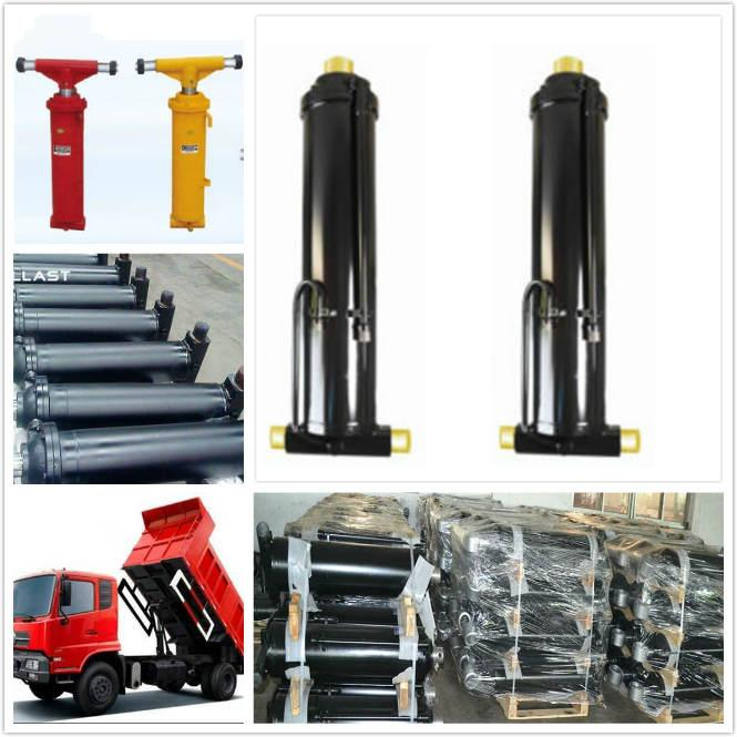 2 Way Telescopic Hydraulic Lift Cylinder for Agricultural Farm Dump Truck