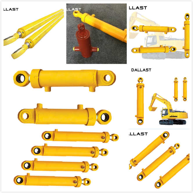 50 Ton Two Way Hydraulic Ram Electric Hollow Industrial High Pressure Heavy Duty Forklift