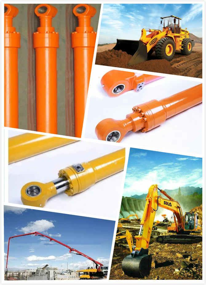 Telescopic 	Welded Hydraulic Cylinders for Crane Excavator Loader