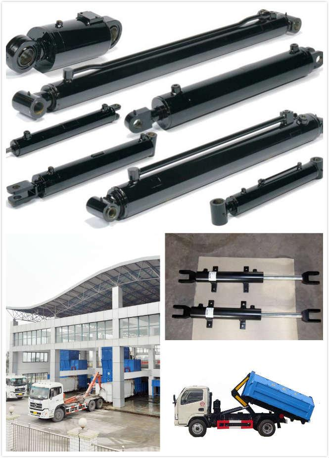Double Acting Telescopic Hydraulic Ram Garbage Truck Sanitation Vehicles