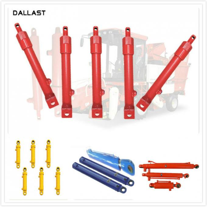 Custom Welded Dual Acting Hydraulic Cylinders Agricultural Tractor