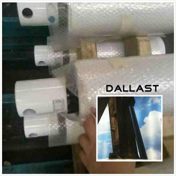 45#  DALLAST Hollow Piston Chrome Plated Steel Pipe Neutral Salt Spray Test 100 Hours